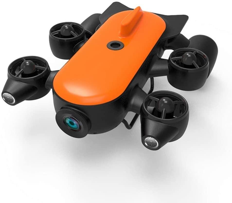 GRTVF Portable 4K Underwater Camera Drone