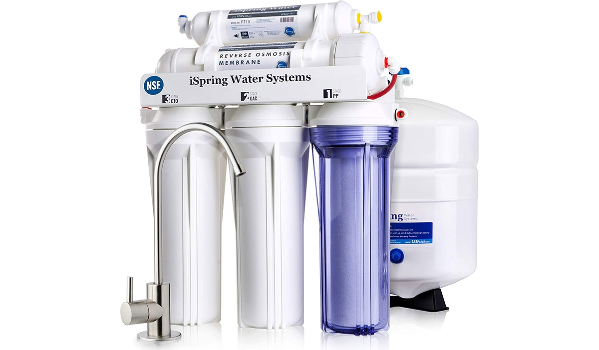5-Stage Reverse Osmosis Drinking Filtration System
