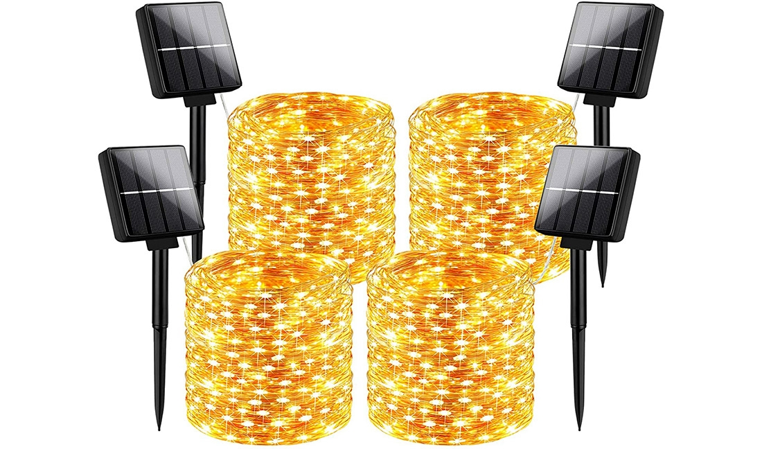 Outdoor Solar String Lights Waterproof 288Ft