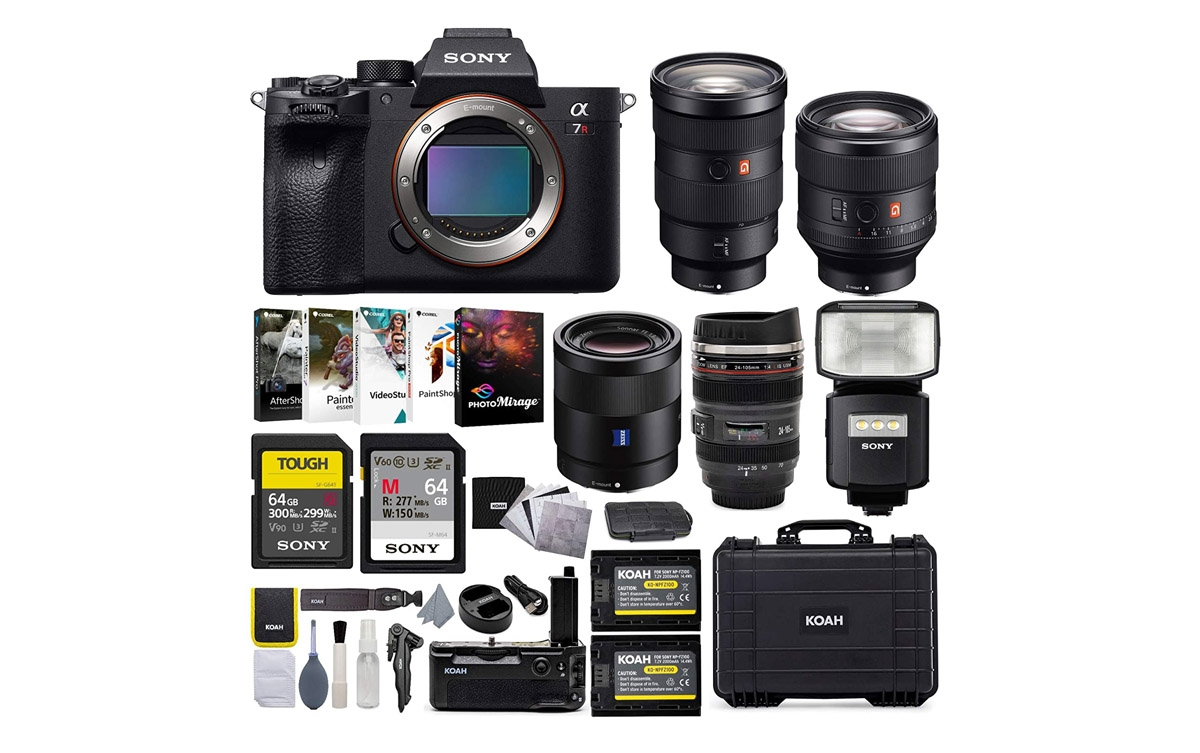 Sony Alpha a7Rm IV Full Frame Mirrorless Digital Camera Pro Grade Koah Bundle