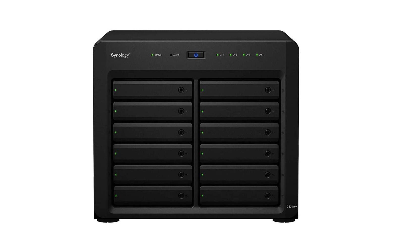Synology DiskStation DS2419+ iSCSI NAS Server, 24TB SSD Storage