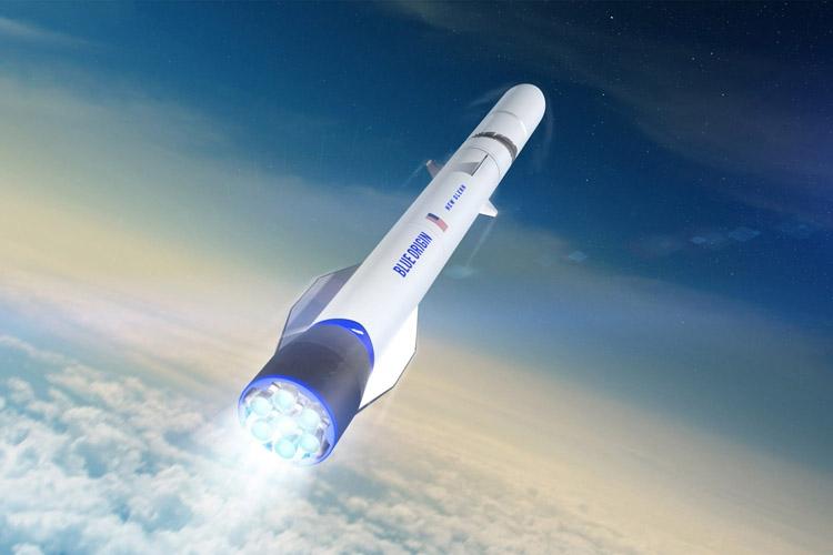 Blue Origin Space Traveling