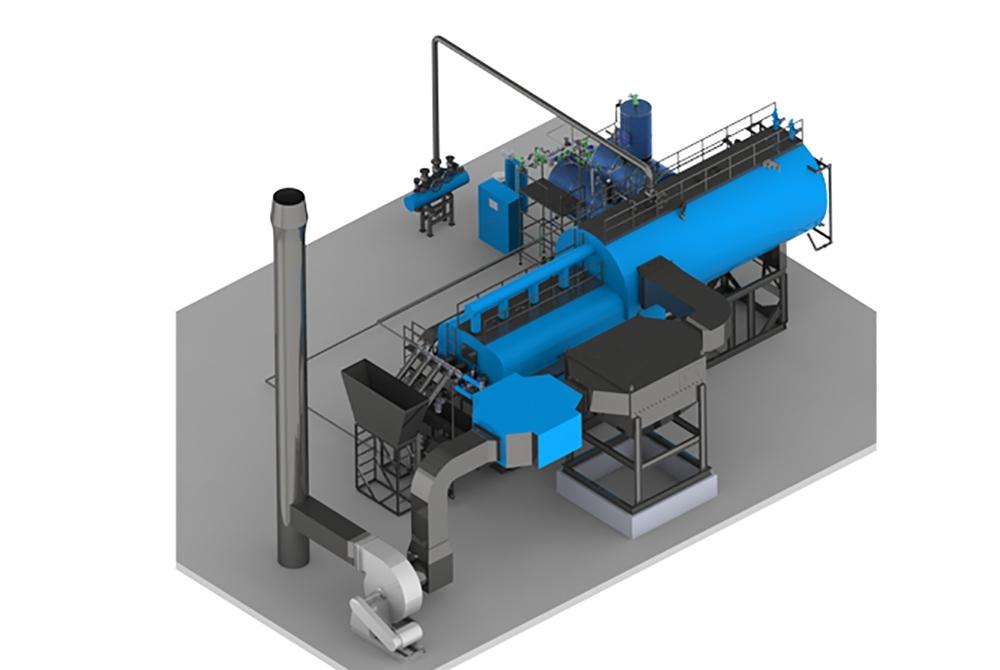 Industrial Boiler YHYB – BIOMASS/COAL (500 – 20.000 KG/H)