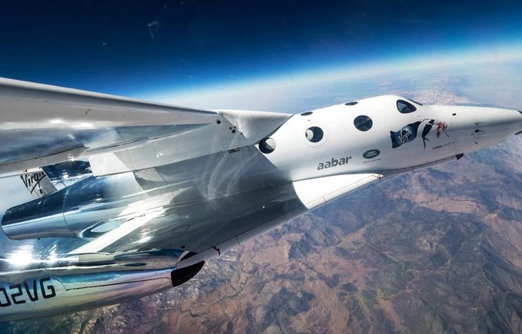Virgin Galactic Space Traveling